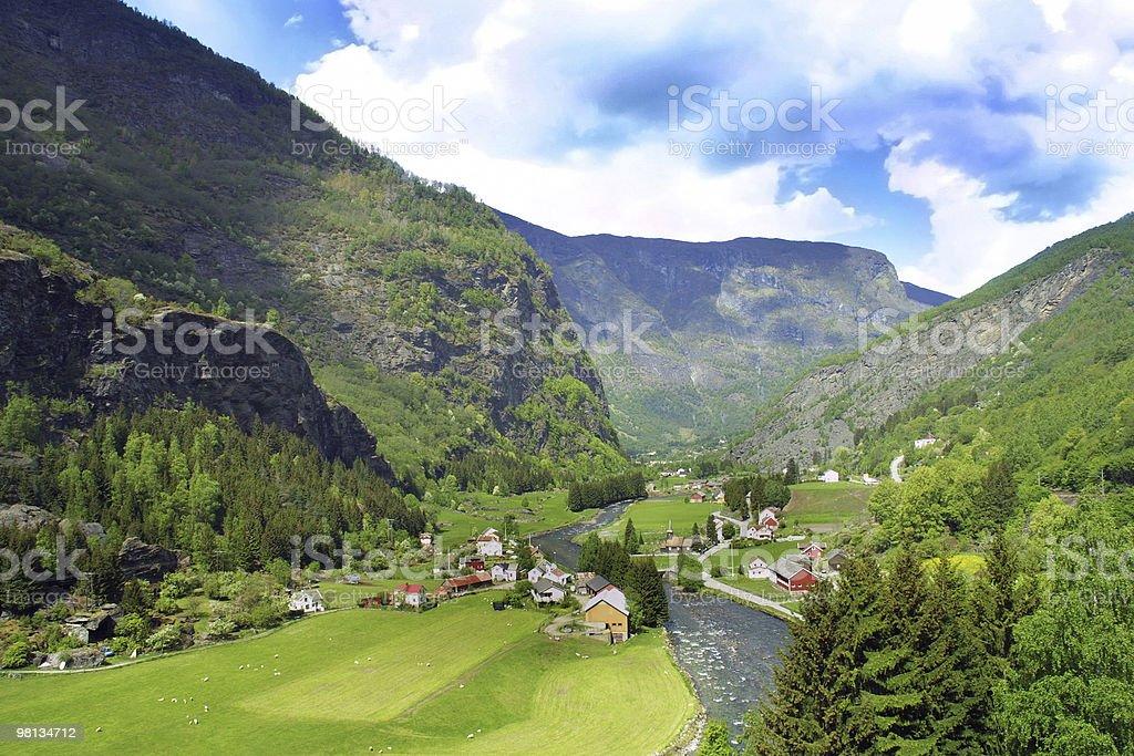 노르웨이 royalty-free 스톡 사진