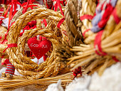 istock Norway - Scandinavian - Christmas - God Jul - Close up - Doll - HD 1184640256
