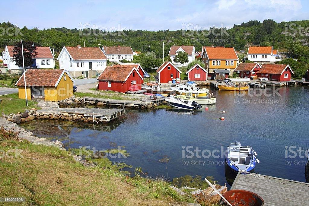 Norway - Skjernoya stock photo