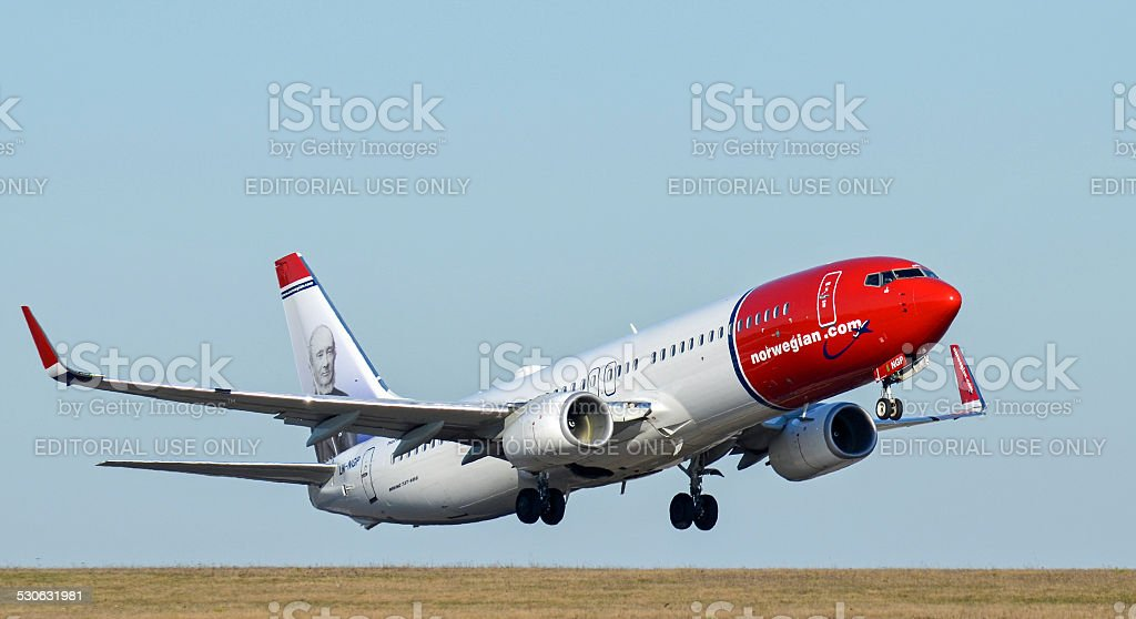 Norwegian Air Shuttle II stock photo