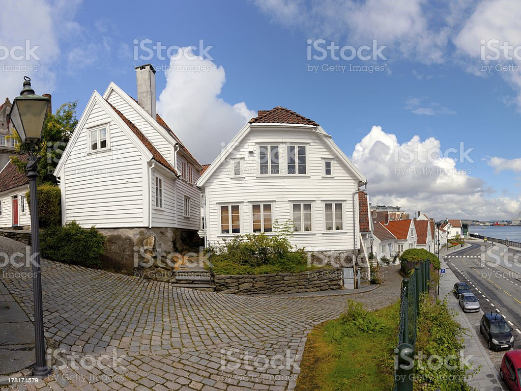 Norwegian architecture royalty-free stock photo