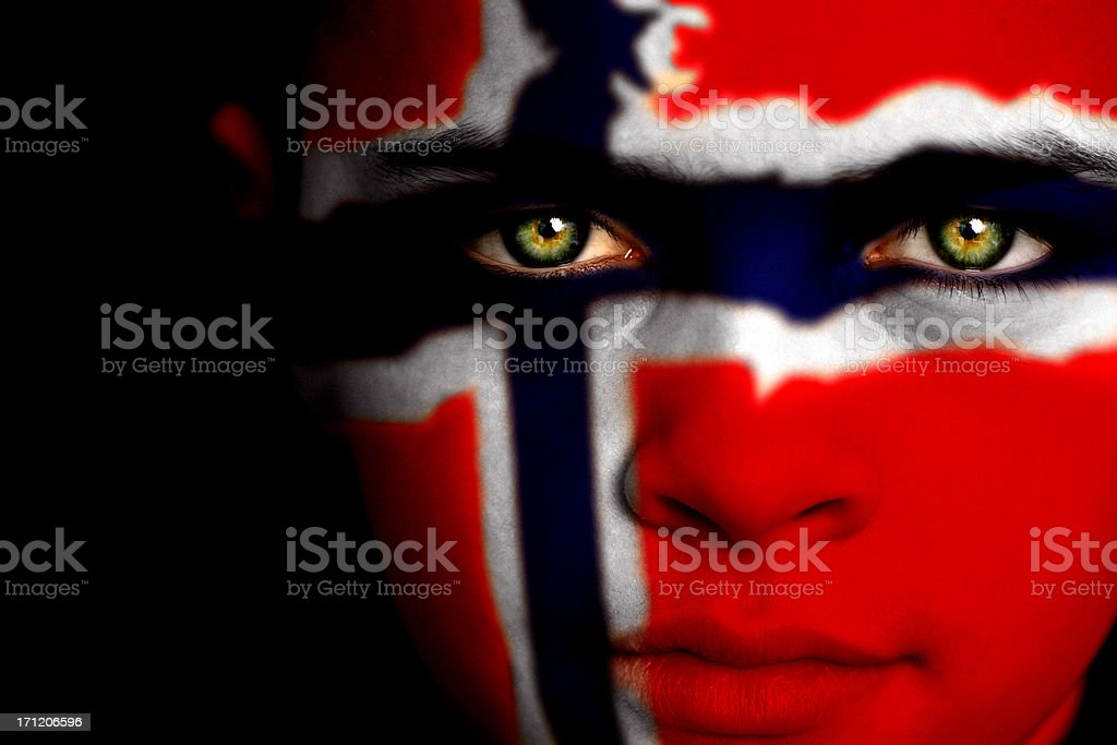 Norwegian boy royalty-free stock photo