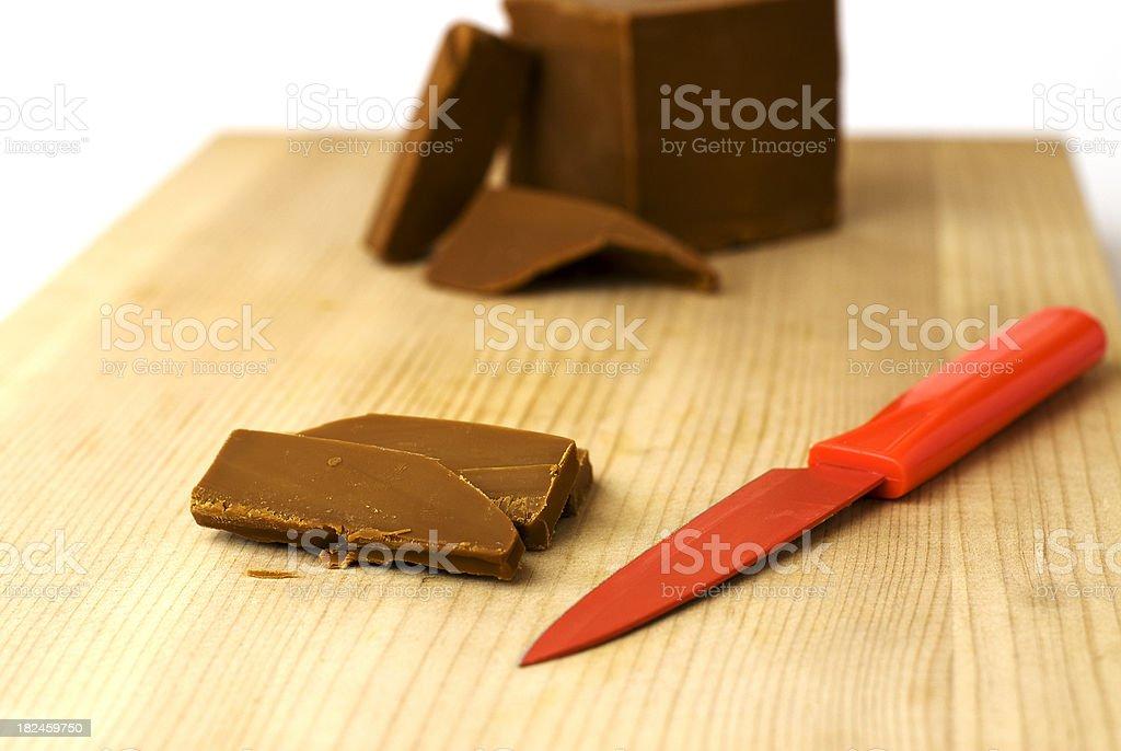 Noruega queso marrón foto de stock libre de derechos