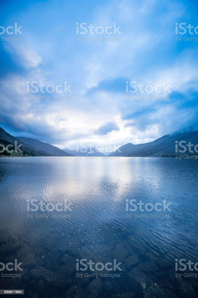Norwegian fjord – zdjęcie