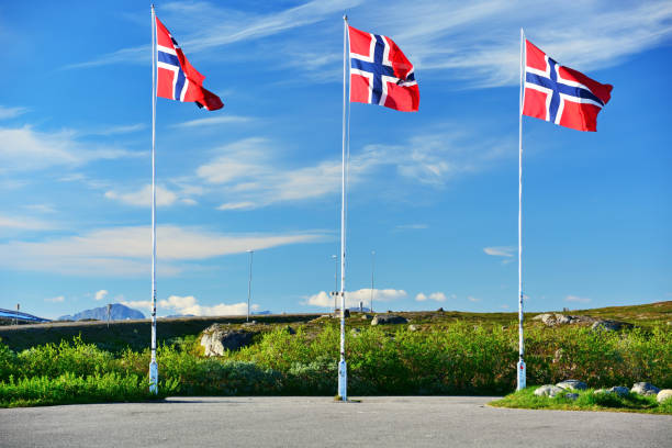 Pavilhão norueguesa - foto de acervo