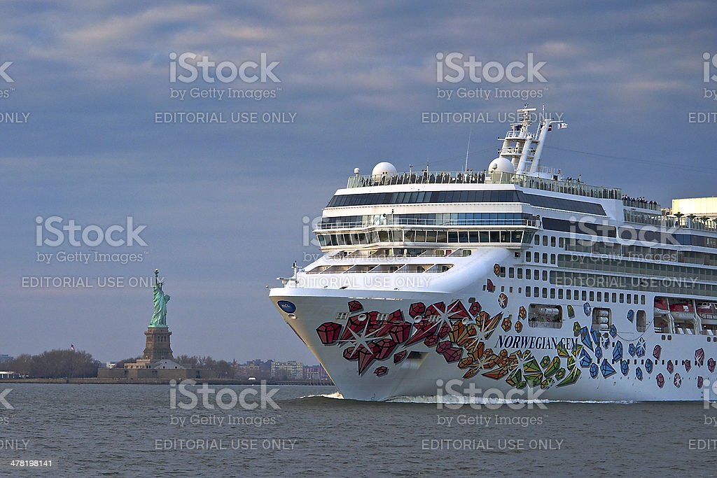 Norwegian Gem stock photo