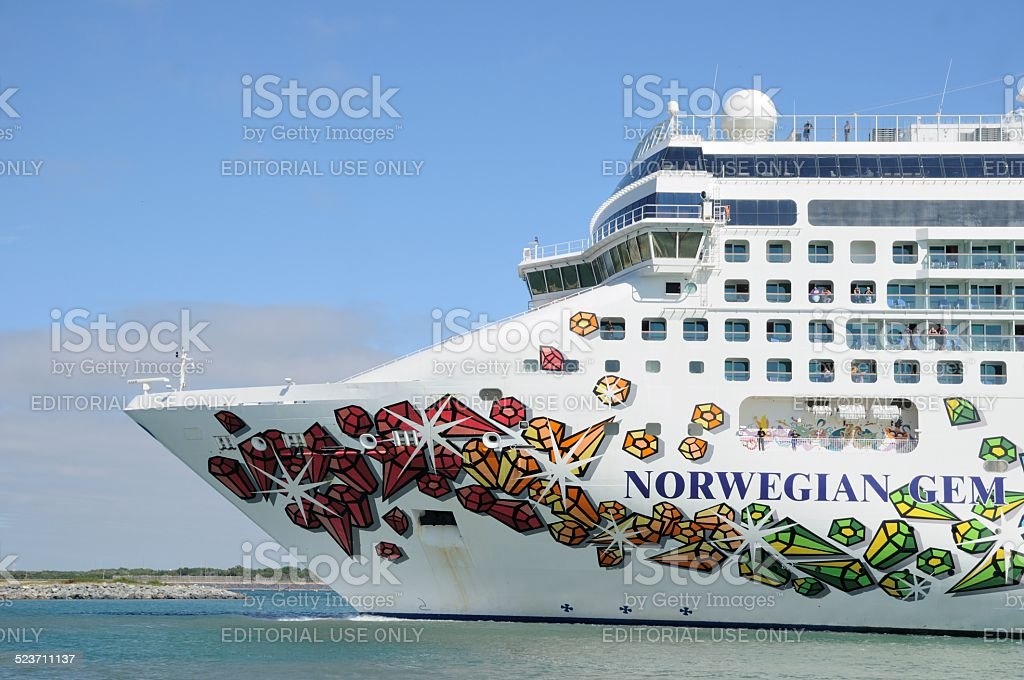 NCL Norwegian Gem stock photo