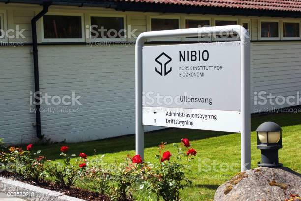 Instituto Noruego De Investigación Bioeconomía En Ullensvang Noruega Foto de stock y más banco de imágenes de Agricultura