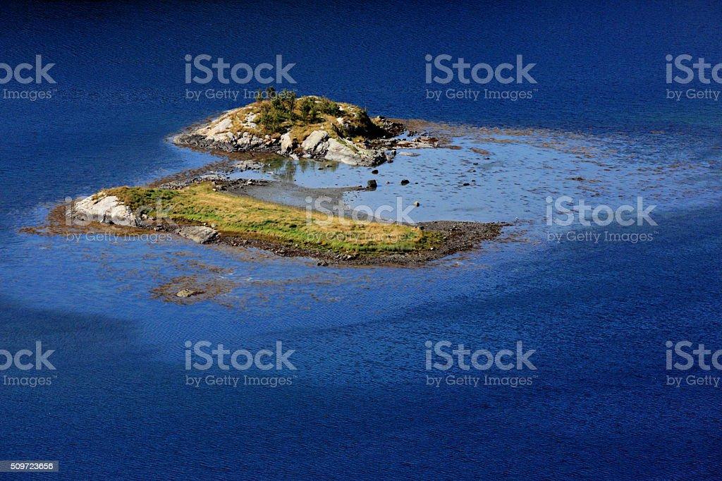 Norwegian Isle stock photo