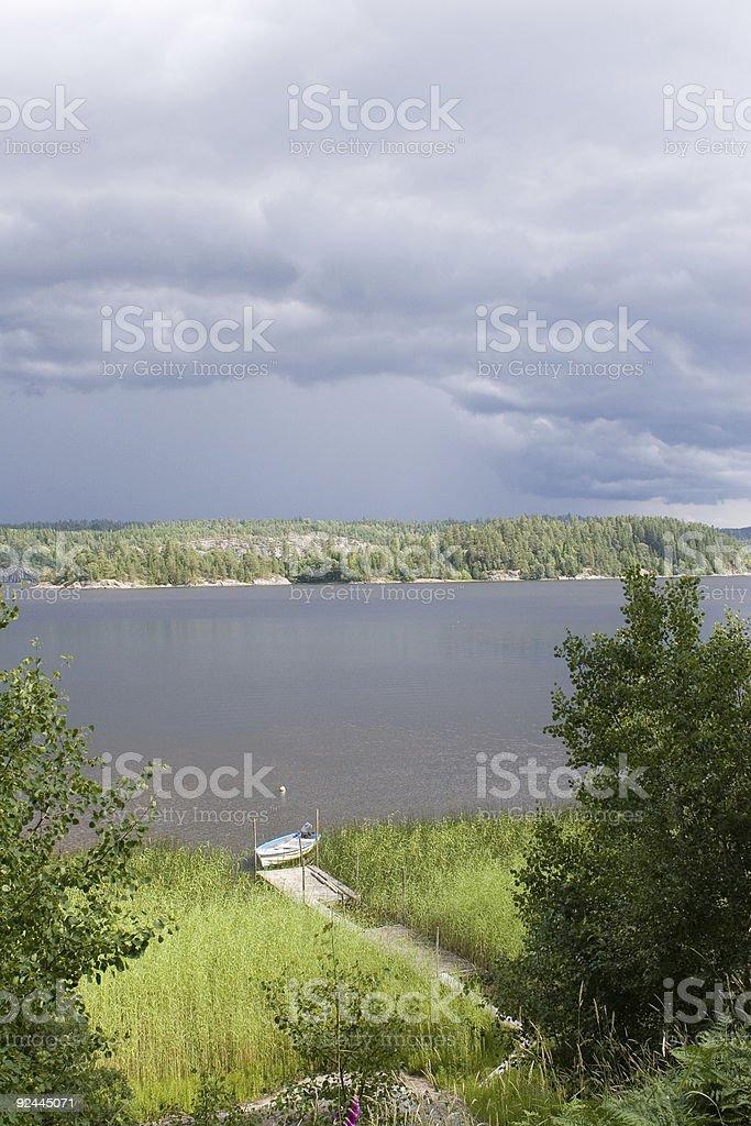 Norwegian landscape (3) royalty-free stock photo