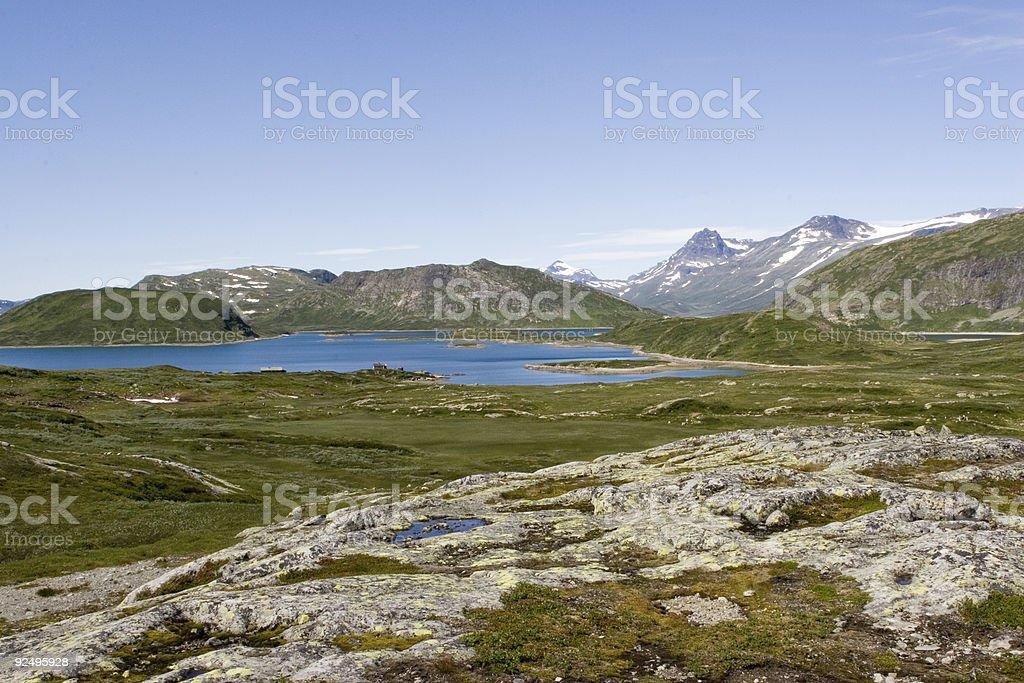 Norwegian landscape (2) royalty-free stock photo