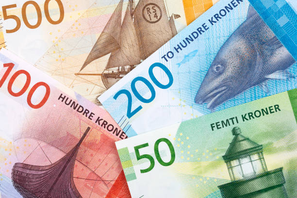 Norwegian money, a background Norwegian money, a business background norwegian culture stock pictures, royalty-free photos & images