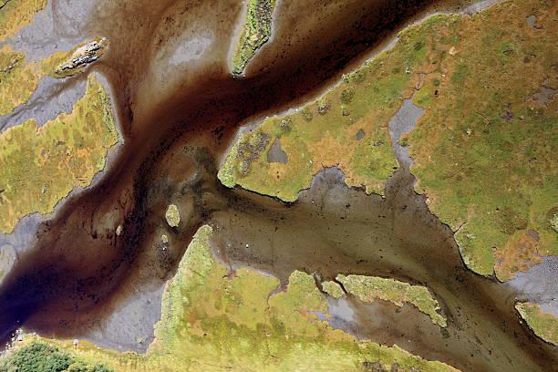 Norwegian River stock photo