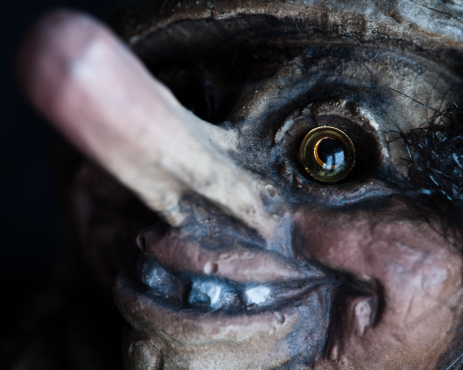 Norwegian Troll Closeup Portrait Stock Photo - Download Image Now