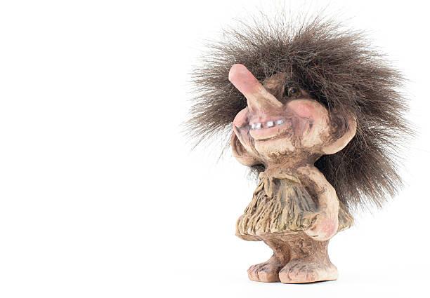 Norwegian Troll Figure stock photo