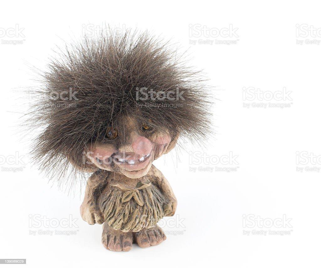 Norwegian Troll Figure royalty-free stock photo
