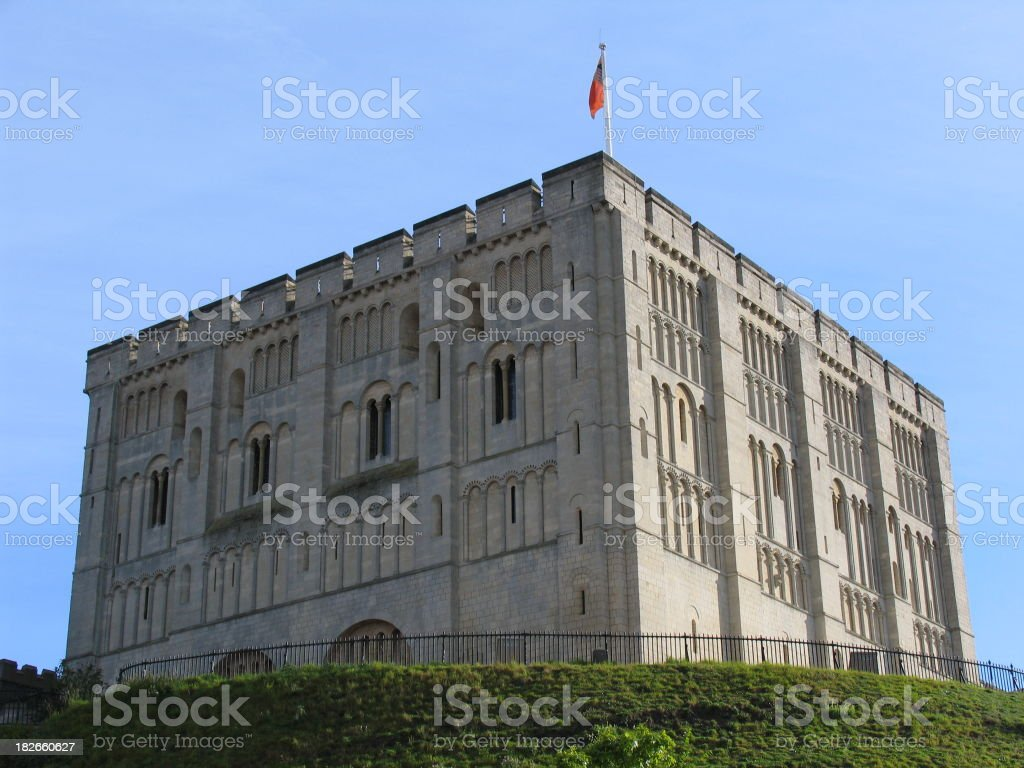 Norwich Castle royalty-free stock photo