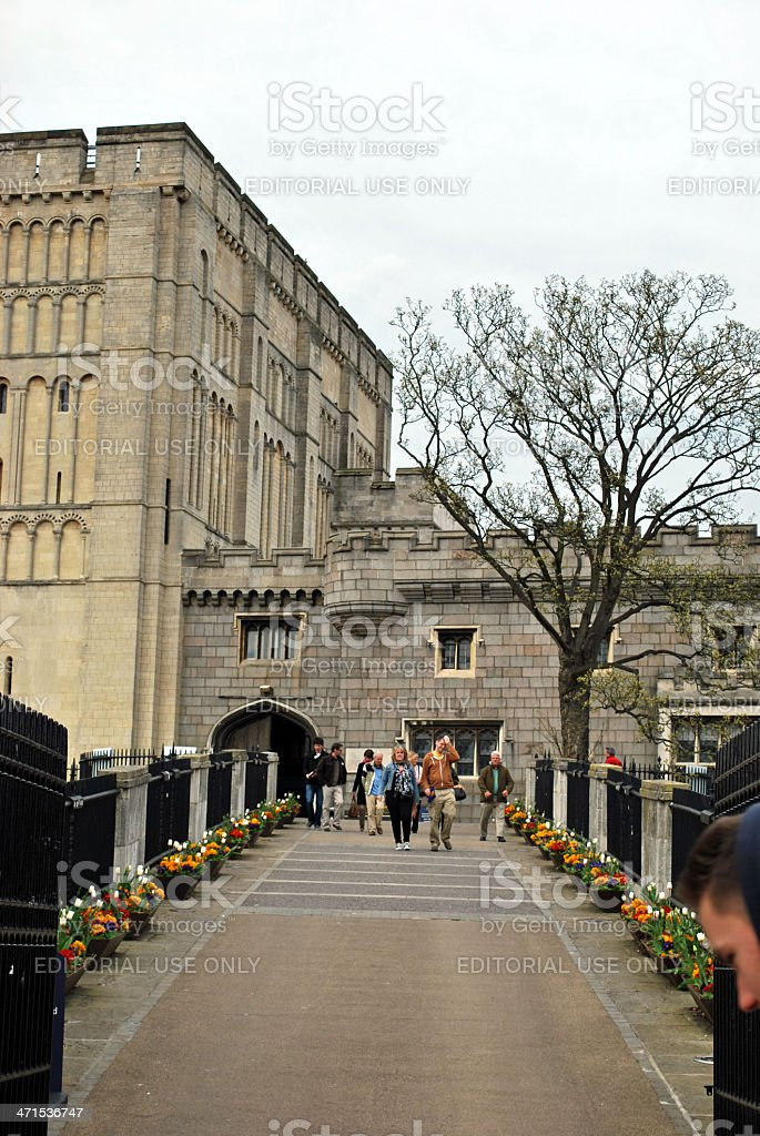 Norwich Castle royalty-free stock photo