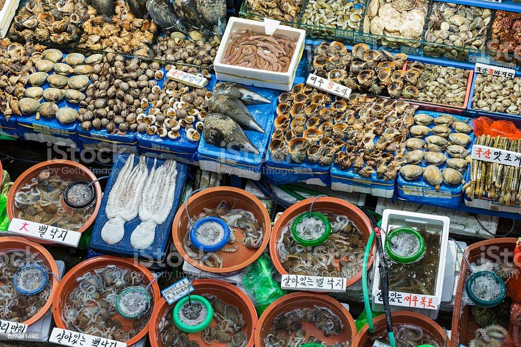 Noryangjin Fisheries Wholesale Market , stock photo
