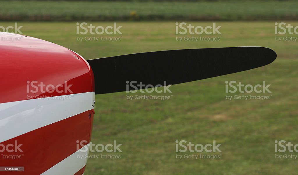 Nose and Propeller royalty-free stock photo