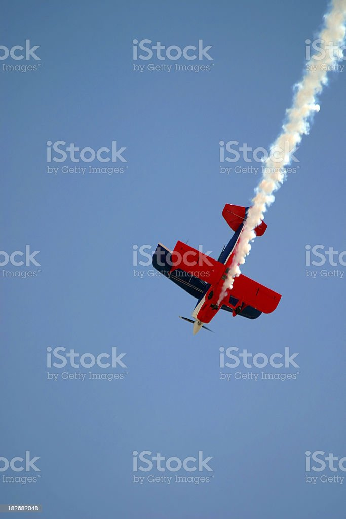 Nose Dive stock photo