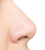 istock nose isolated on white 641615928