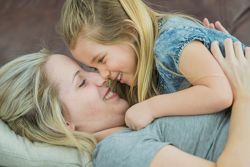 Nose Kiss Stock Photo - Download Image Now - iStock