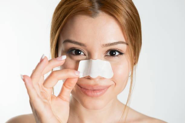 Nose Strip stock photo