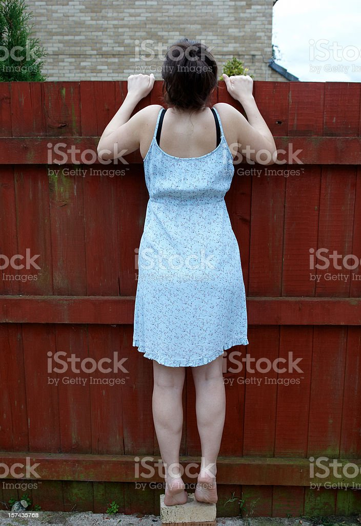 Neugierig Nachbarn - Lizenzfrei 20-24 Jahre Stock-Foto