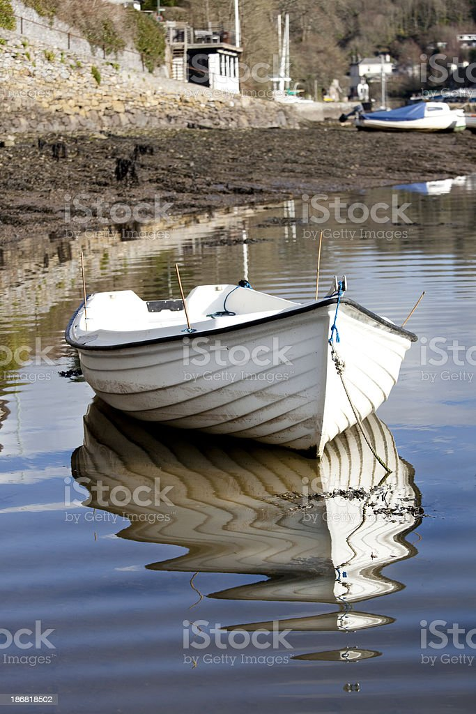 Noss Mayo royalty-free stock photo
