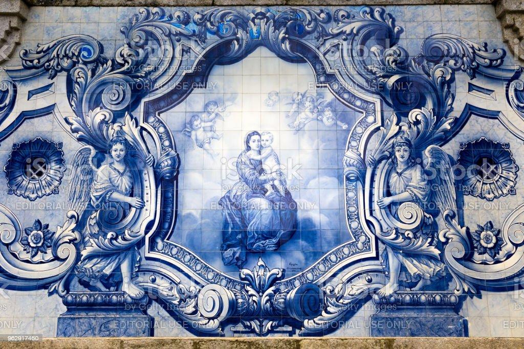 Nossa Senhora dos Remedios Church, Lamego, in Portugal - fotografia de stock
