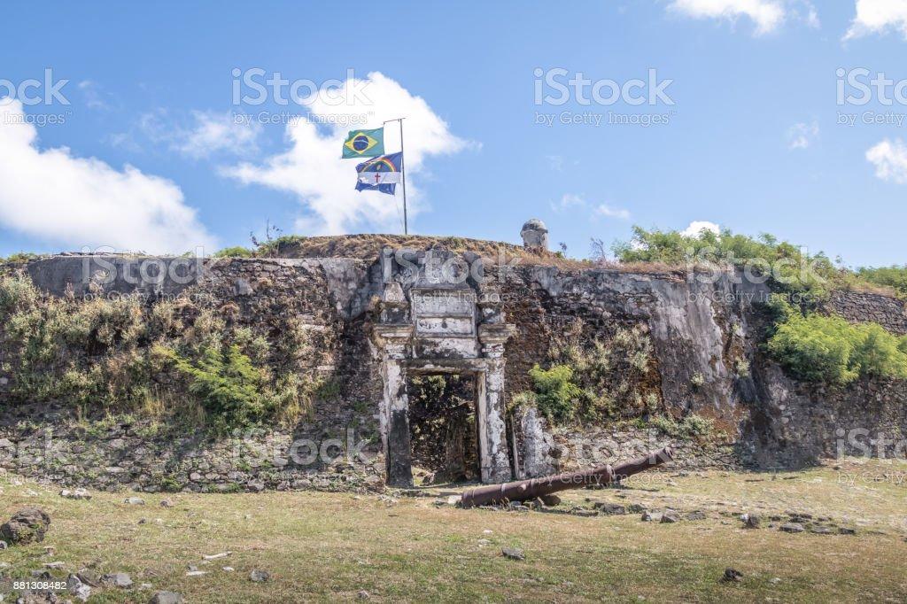 Nossa Senhora dos Remedios fortaleza - Fernando de Noronha, Pernambuco, Brasil - foto de acervo