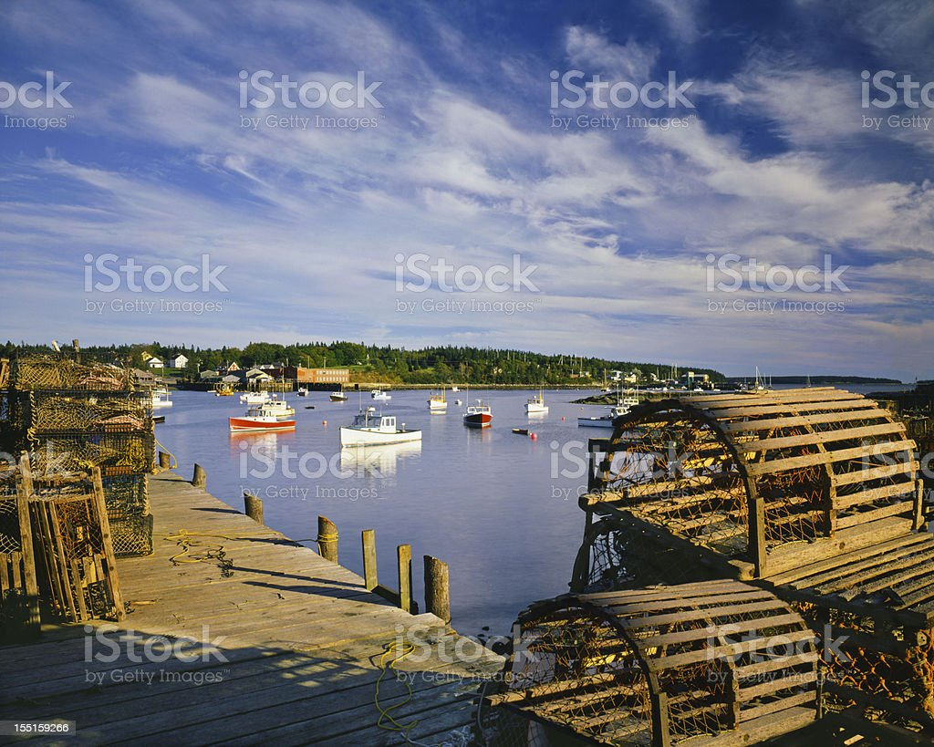 Nostalgia in New England (P) royalty-free stock photo