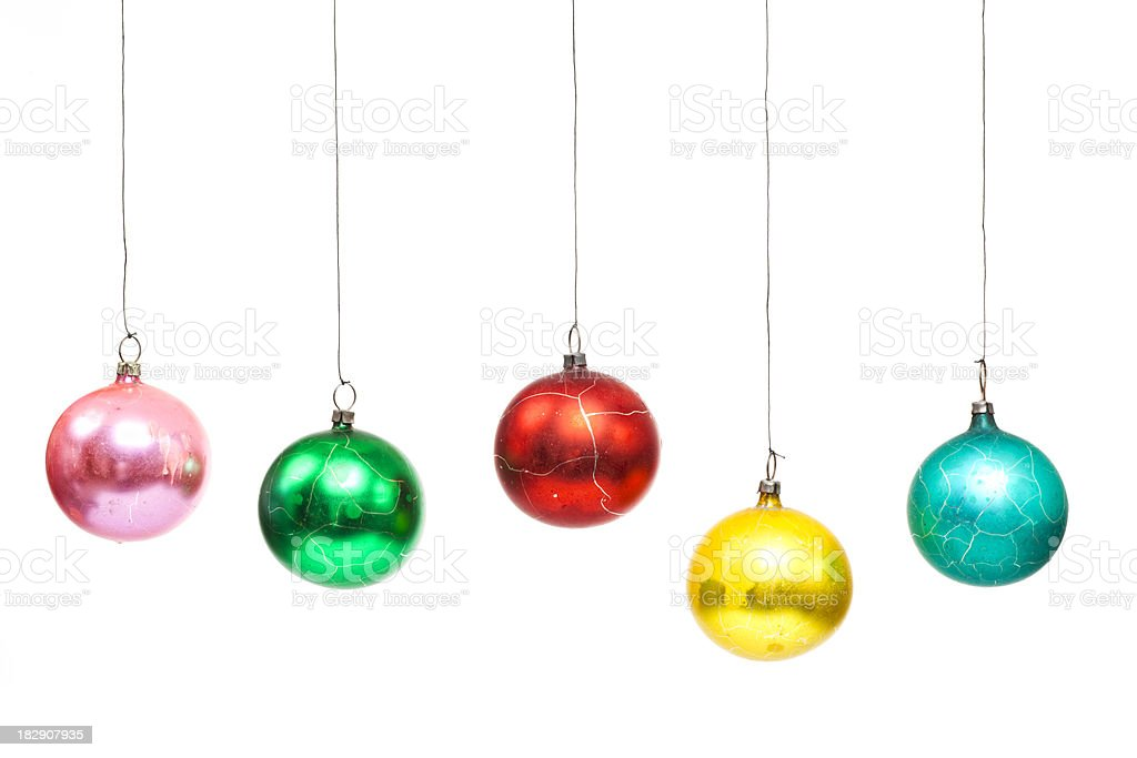 Nostalgic Christmas Bauble royalty-free stock photo