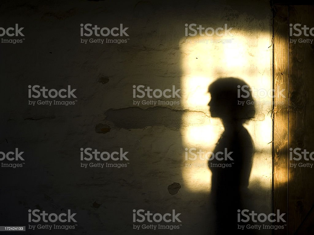 Nostalgic shadow stock photo