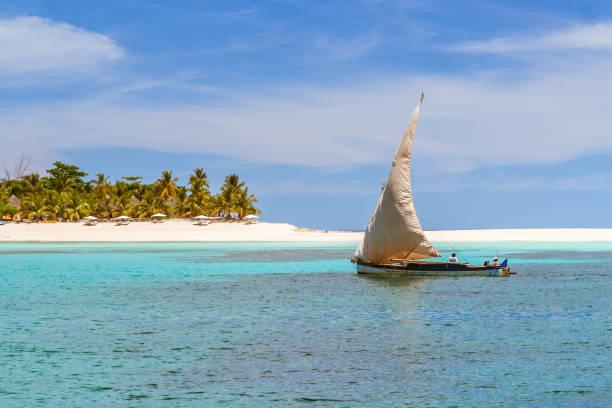 Nosy Iranja, Madagascar stock photo