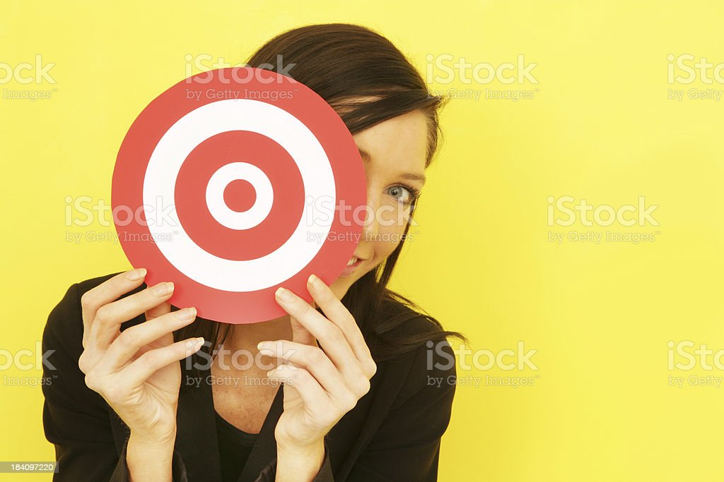 Not a Target royalty-free stock photo