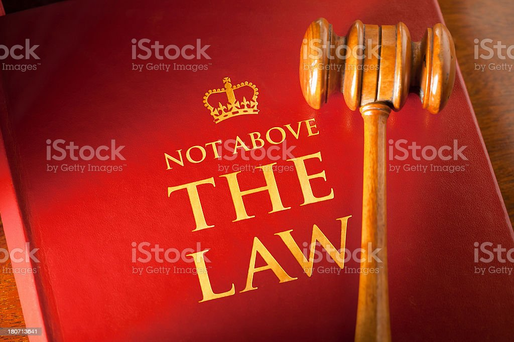 Image result for images of phrase being above the law