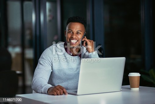 936117940 istock photo Not all of his clients are sleeping 1146071700