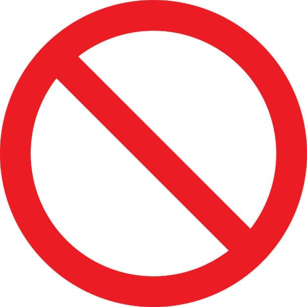 not allowed sign - disbarment stock pictures, royalty-free photos & images