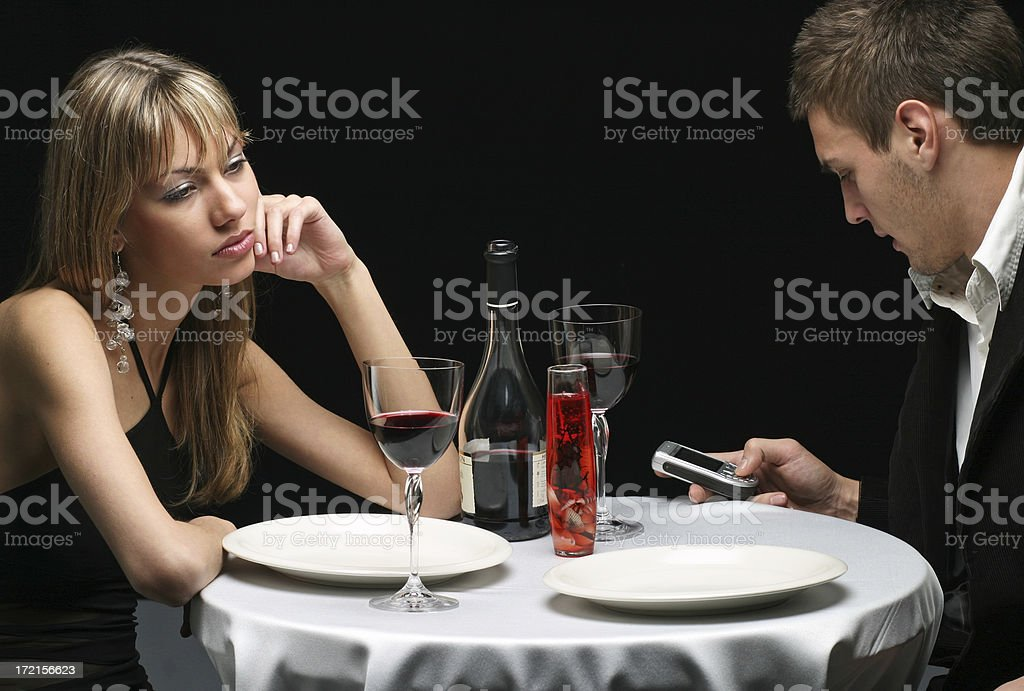 Not Alone but Lonely royalty-free stock photo