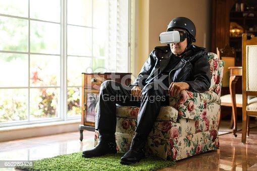 Not amuse by virtual reality
