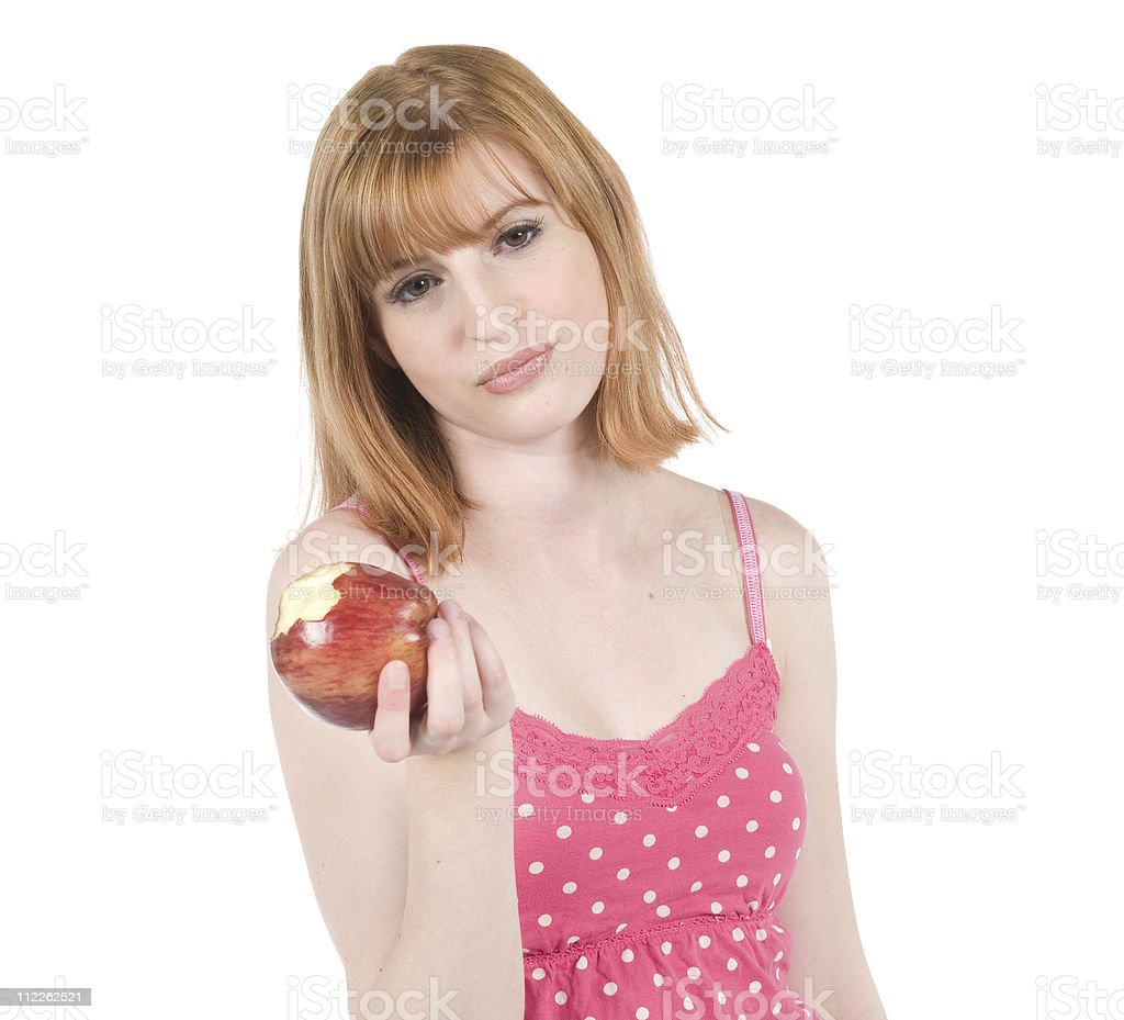 Not Another Apple stock photo
