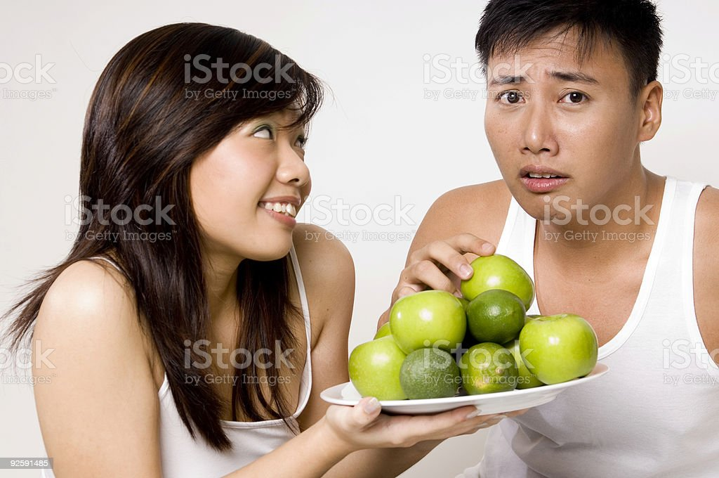 Not Apples Again royalty-free stock photo