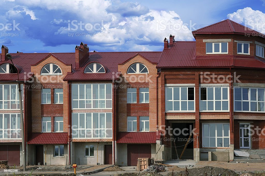 Not completed thrown building royalty-free stock photo