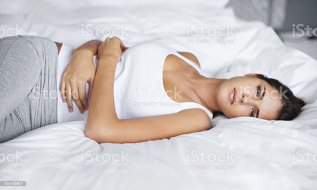 Not feeling too great this morning stock photo
