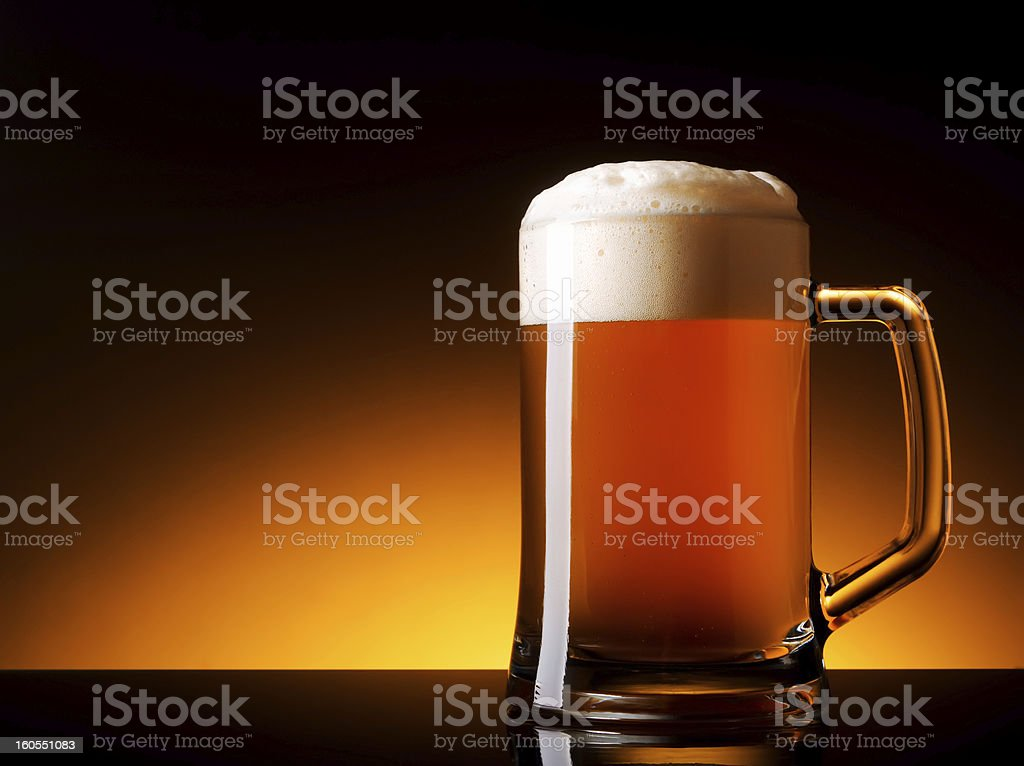 Not filtered ale royalty-free stock photo