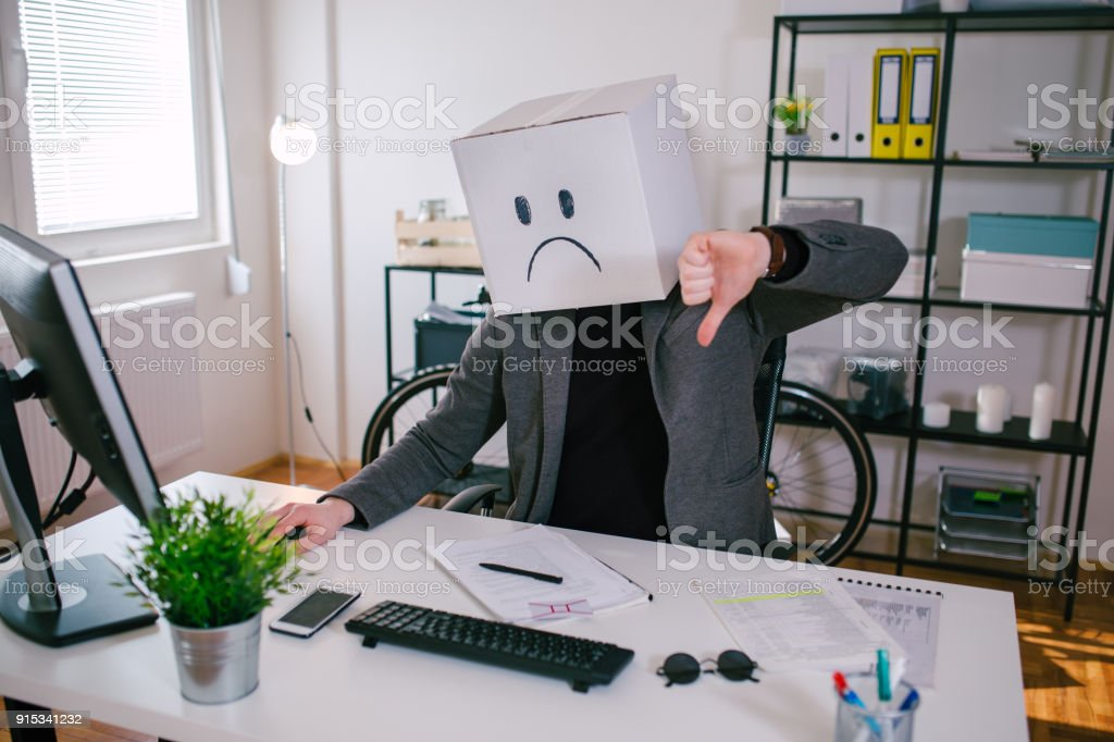 Not good at all stock photo
