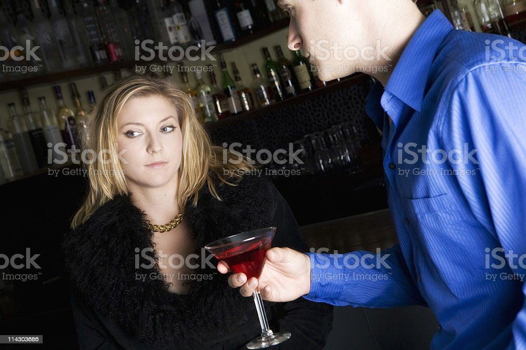 Not Interested stock photo