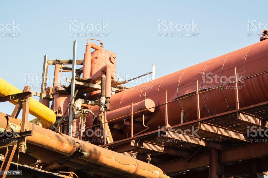 not legitimate oil production stock photo